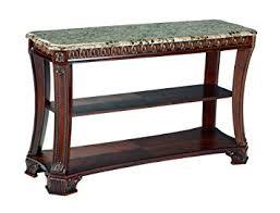 Antique Sofa Table Amazon Com Ashley Furniture Signature Design Ledelle Sofa Table