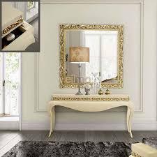 Coiffeuse Design Pour Chambre by Miroir Beige Et Or Lux