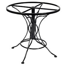 Universal Patio Furniture by Wrought Iron Tables And Bases