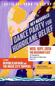 dance party benefit for hurricane victims