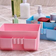 makeup storage farmhouse style storage bins buckets baskets to
