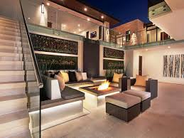 outdoor built in firepit ideas home fireplaces firepits built