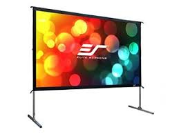 portable screen top 5 best rated outdoor movie screens