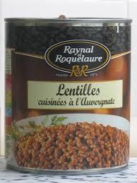 cuisine lentille a table dans la cuisine des lentilles oui mais en boite