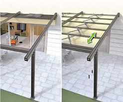 Retractable Pergola Shade by Best 25 Pergola Roof Ideas On Pinterest Pergolas Pergola Shade