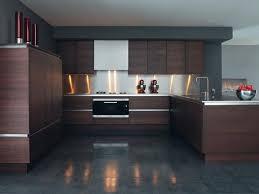 Wood Veneer Kitchen Cabinets With Dark Brown Colors And Dark - Kitchen cabinet veneers
