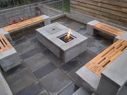 Backyard Fire Pit Landscaping Ideas by Patio Fire Pit Designs Ideas For Backyard Also And Rectangular