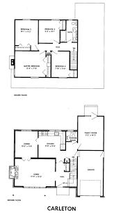 Carleton Floor Plans Mid Century Modern And 1970s Era Ottawa September 2011