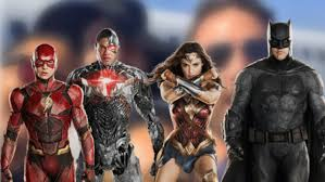 justice league cast all smiles while arriving for comic con