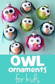 30 tree ornaments to make easy ornament and owl