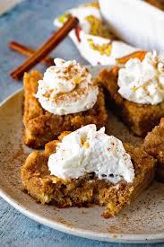 The Ultimate Pumpkin Bars Julie U0027s Eats U0026 Treats