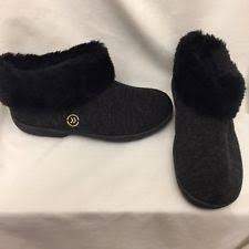 womens slipper boots size 9 isotoner booties s slippers us size 8 ebay