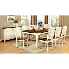 8 pc dining room set furniture of america besette cottage 9 piece dining table set