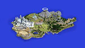 Map Of Hyrule Zelda Ocarina Of Time The Minecraft Map Minecraft Project