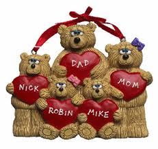 cheap free personalized ornaments best teddy figurines
