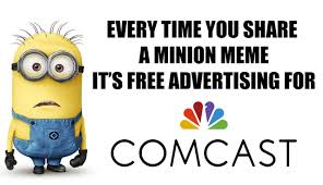 Comcast Meme - comcast is making millions off minions philadelphia magazine