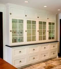 Builtin China Cabinet With A Countertop That Matches Kitchen And - Kitchen cabinet from china