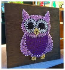 made to order owl string art nursery decor nursery string