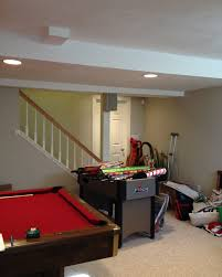 before and after a natick basement makeover