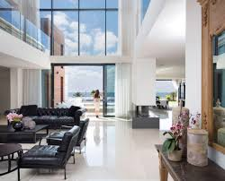 Home Interior Design Steps by Contemporary House Overlooks The Mediterranean Sea Situated Steps