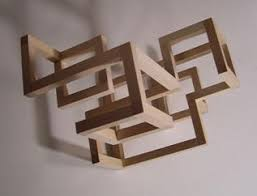 scrap wood sculpture david bergman design