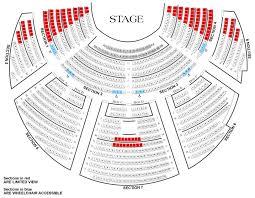 seat map seating chart casa manana
