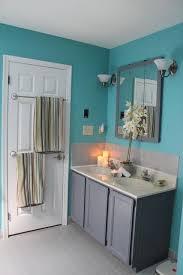 Teal Bathroom Ideas Un Pequeño Baño Bien Iluminado Y Decorado En Blanco Pintado Con