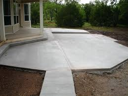acid stained concrete patio looks like copper click the pic for