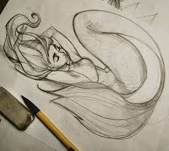 the 25 best mermaid drawings ideas on pinterest mermaid art