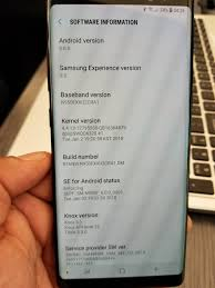 Install Android Nougat On Galaxy Note 8 0 Galaxy Note 8 Oreo Update Randomly Released Sammobile