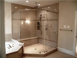Frameless Glass Shower Door Kits by Frameless Glass Shower Doors Ceiling Bathroom Design Splashy