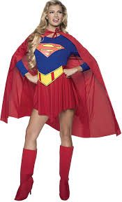 Halloween Costumes Girls Amazon Amazon Dc Comics Deluxe Supergirl Costume Red Blue Medium