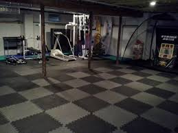 workout mats for basement floor basements ideas