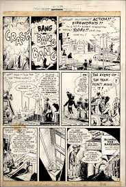 comic sales from denis kitchen agency will eisner original