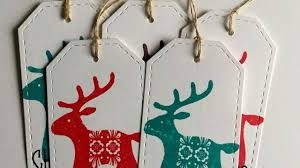 how to make quick gift tags for christmas diy crafts tutorial