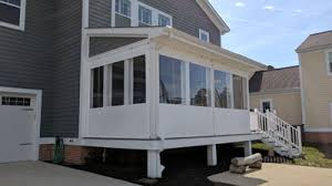 Clear Vinyl Patio Enclosures by Porch Enclosure Systems Clear Vinyl Panels Roll Up