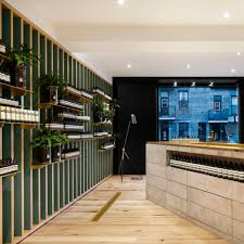case real references snowy mountains for aesop sapporo interior