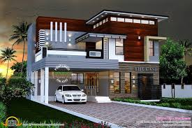 modern single house plans contemporary house plans single modern with photos in kerala