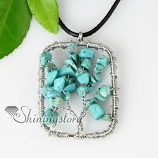 round turquoise necklace images Heart oblong round semi precious stone turquoise necklaces jpg