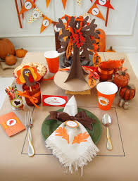 thanksgiving table ideas including great craft projects