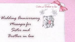 Happy Wedding Anniversary Wishes For Wedding Anniversary Messages For Sister And Brother In Law