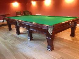 full size snooker table burroughes and watts full size snooker table restoration browns