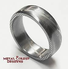 damascus steel wedding band stainless damascus steel ring stainless steel wedding