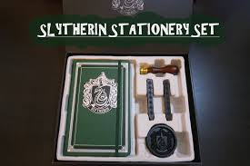 stationery set slytherin kırtasiye seti inceleme sytherin deluxe stationery set