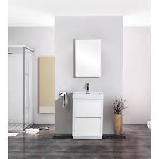 bathroom freestanding bathroom vanity cabinet with lights faucet