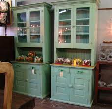 Kitchen Pantry Cabinets Freestanding Reclaimed Wood Butler Pantry Cabinets Pair Painted Pine