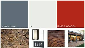 Midcentury Modern Colors Mid Century Modern Exterior Paint Colors Home Interiror And