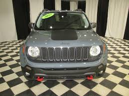 2017 gray jeep renegade 2017 used jeep renegade 4x4 at speedway auto mall serving rockford