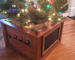 christmas tree stand etsy