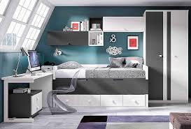 chambre ado avec lit mezzanine bureau beautiful lit mezzanine 1 place bureau integre high